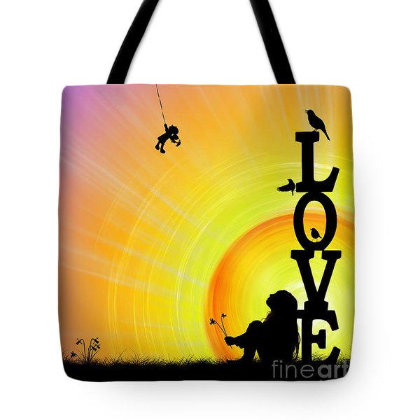 Inner Child Tote Bag by Tim Gainey