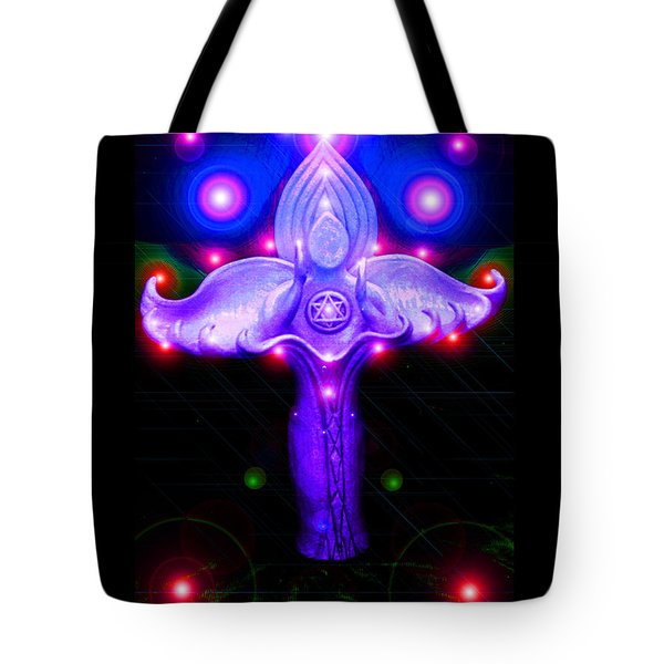 Inner Galactic Symphonics Tote Bag by Susanne Still