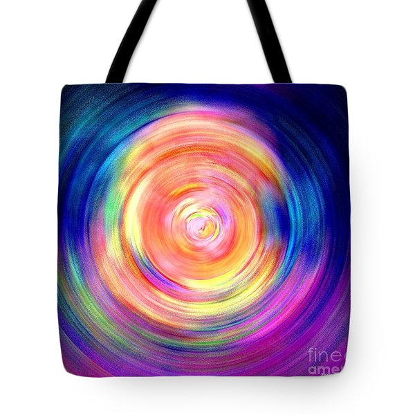 Inner Glow Abstract Art Tote Bag