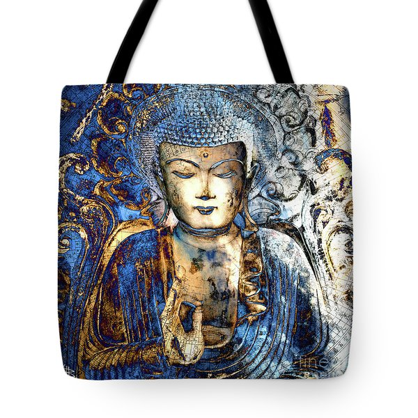 Tote Bag featuring the digital art Inner Guidance by Christopher Beikmann