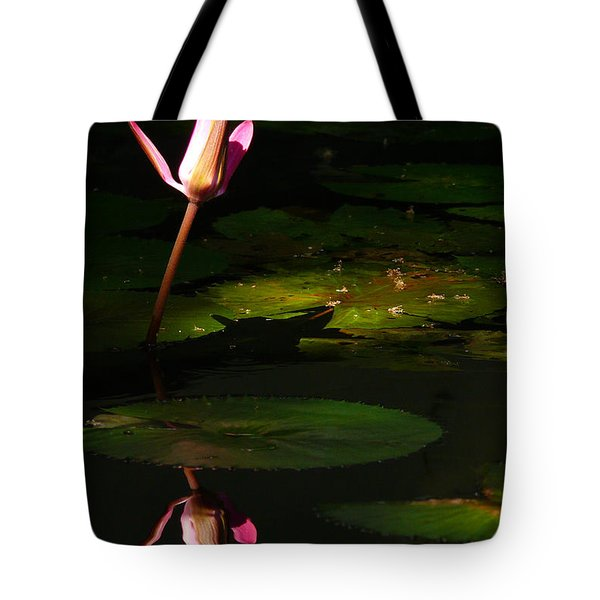Tote Bag featuring the photograph Inner Peace by Evelyn Tambour