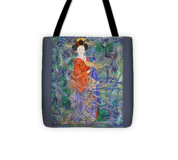 Inner Peace Tote Bag by Jane Chesnut