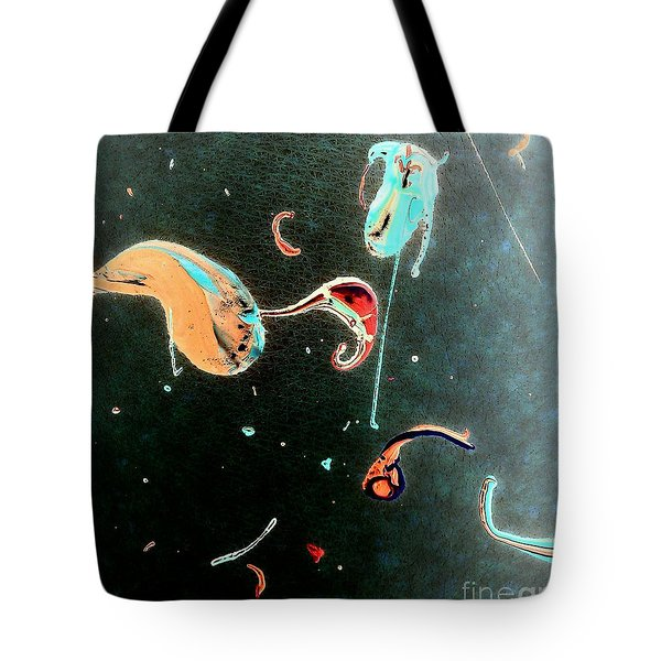 Tote Bag featuring the painting Inner Space by Jacqueline McReynolds