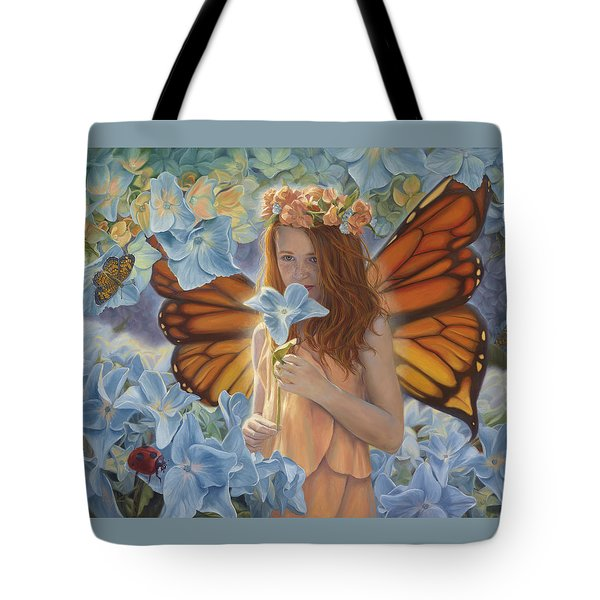 Innocence Tote Bag by Lucie Bilodeau