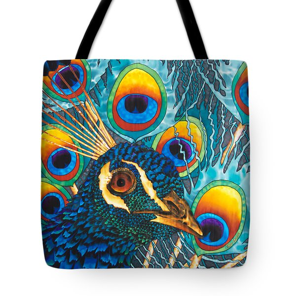 Insane Peacock Tote Bag