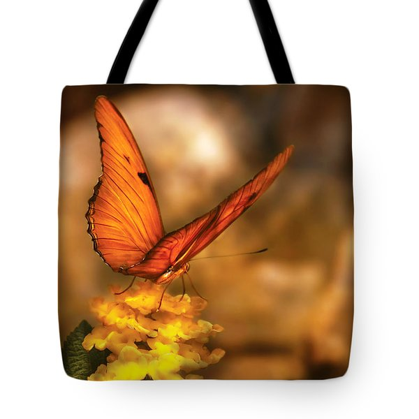 Insect - Butterfly - Just A Bit Of Orange  Tote Bag