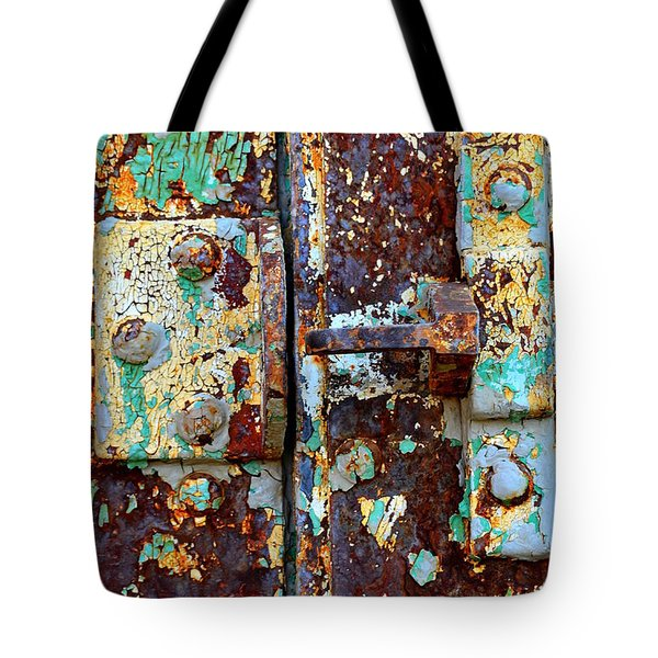 Insecure Tote Bag by Newel Hunter