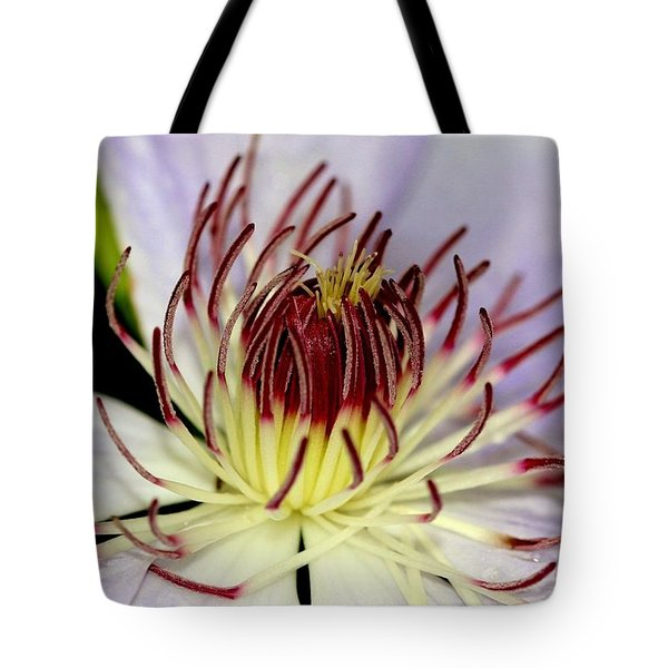 Inside A Clematis Tote Bag