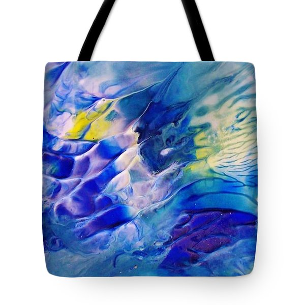 Inside A Wave Tote Bag