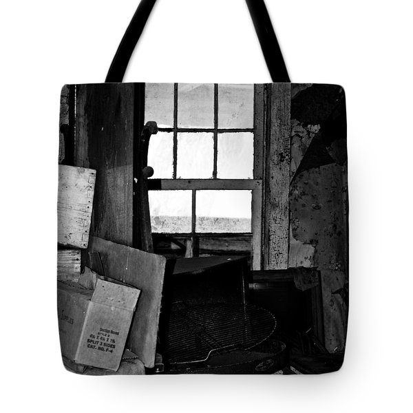 Inside Abandonment 2 Tote Bag by Tara Lynn