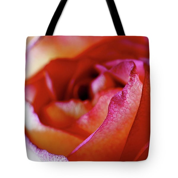 Tote Bag featuring the photograph Inside Edge by Rona Black