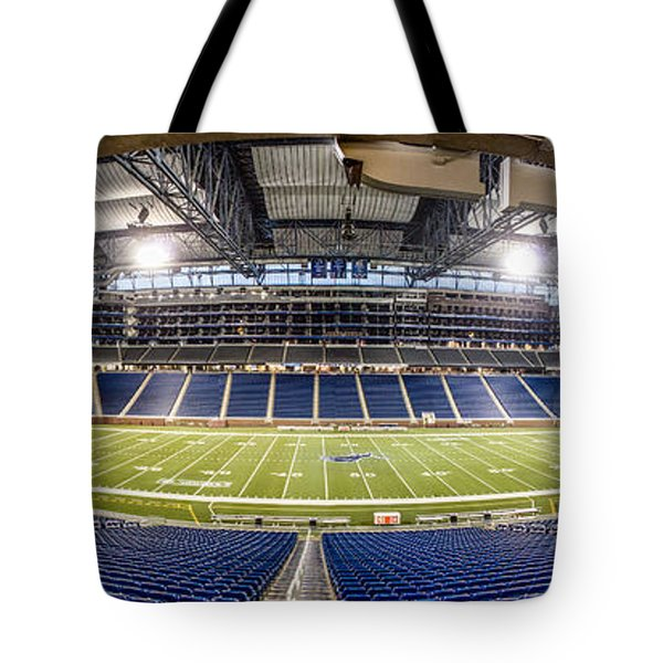 Inside Ford Field Tote Bag