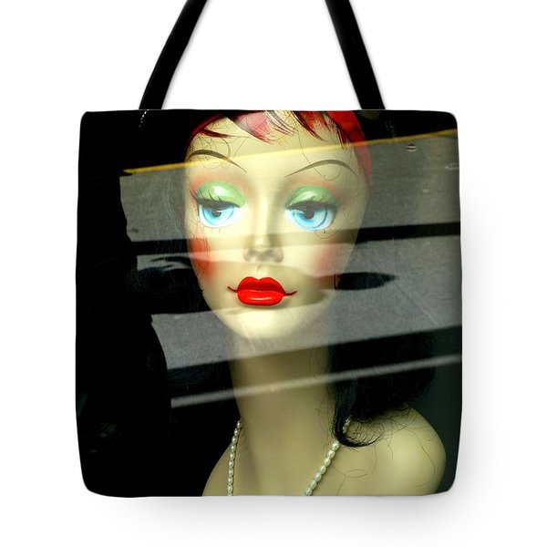 Inside Looking Out Tote Bag by Newel Hunter