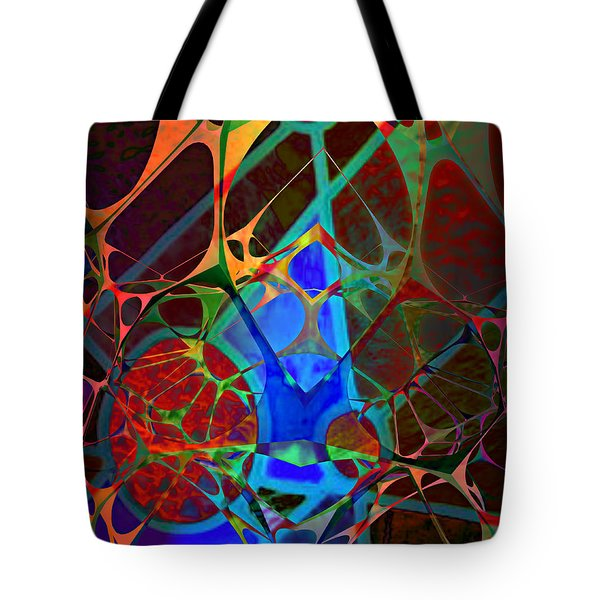 Inside Out Tote Bag by Ally  White