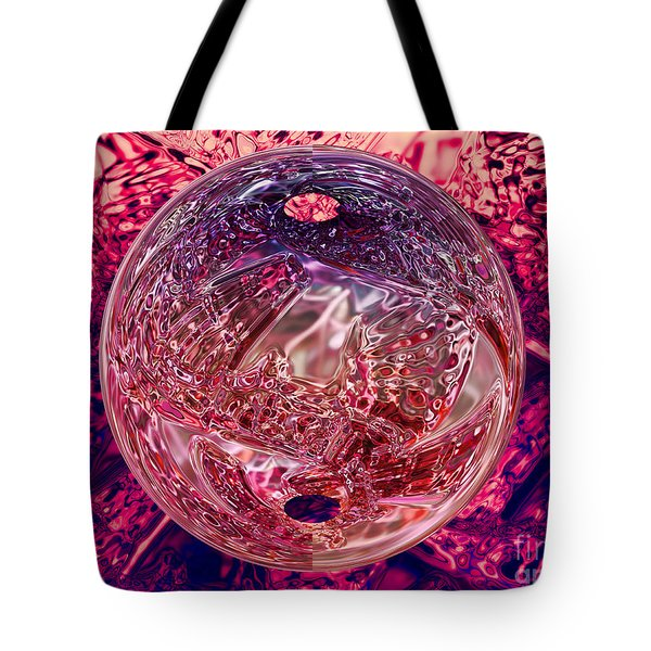 Inside Out Tote Bag by Mo T