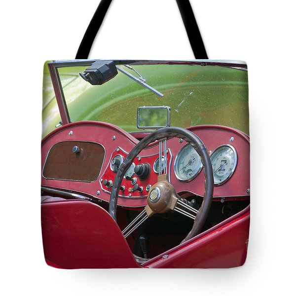 Red Mg-td Convertible  Tote Bag