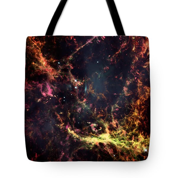 Inside The Crab Nebula  Tote Bag by Jennifer Rondinelli Reilly - Fine Art Photography
