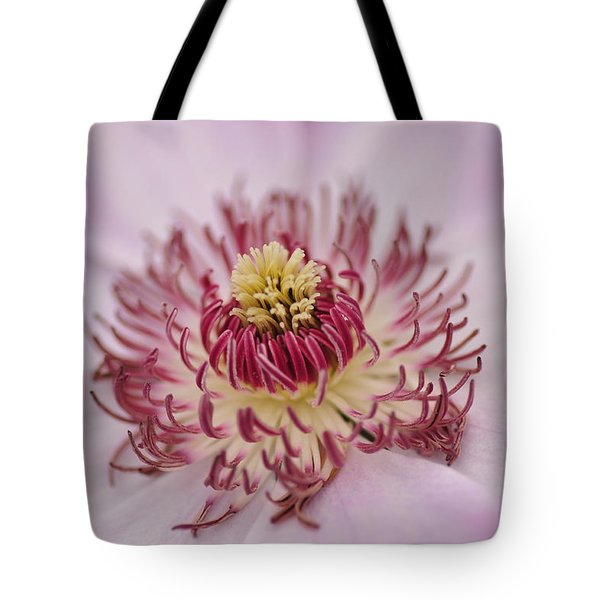 Inside The Flower Tote Bag by Mike Martin