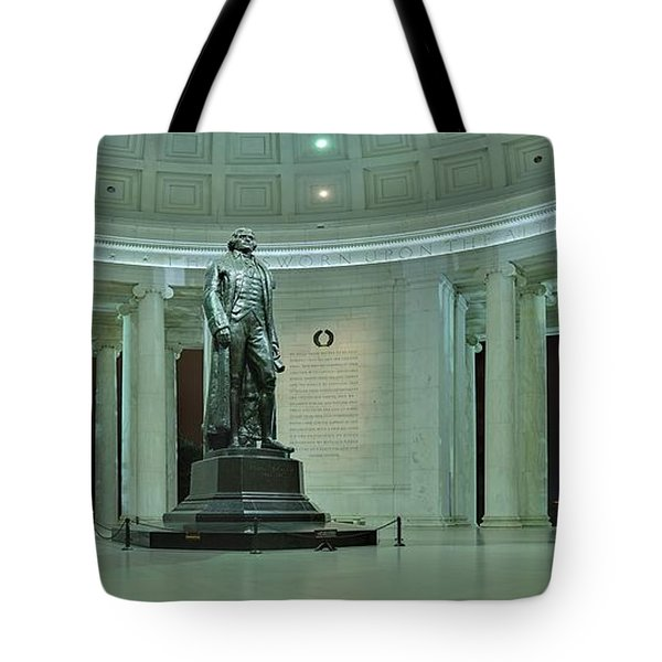 Inside The Jefferson Memorial Tote Bag