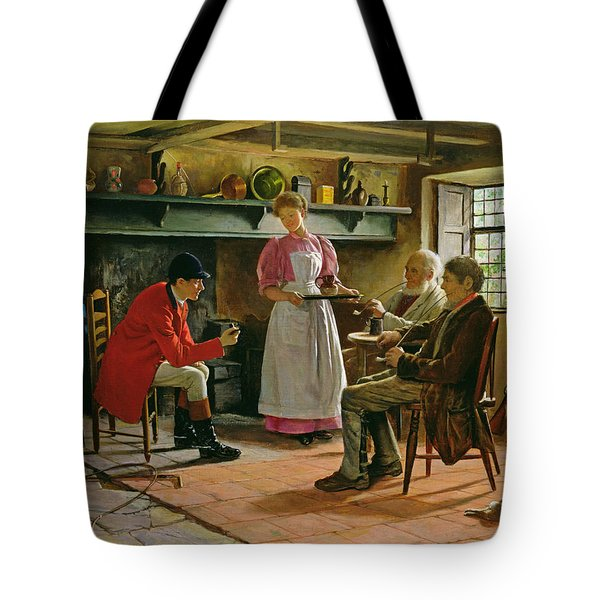 Inside The Lygon Arms, Broadway Tote Bag