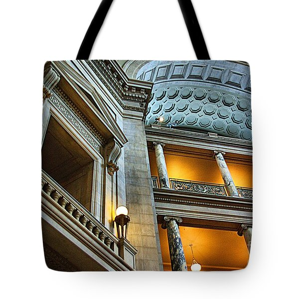 Inside The Natural History Museum  Tote Bag