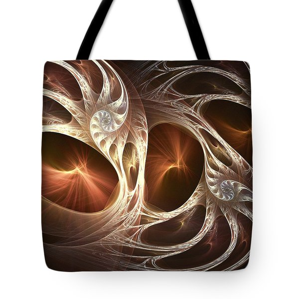 Inside The Shell Tote Bag by Anastasiya Malakhova