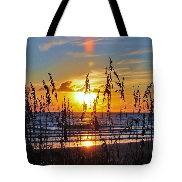 Inside The Sunset Tote Bag