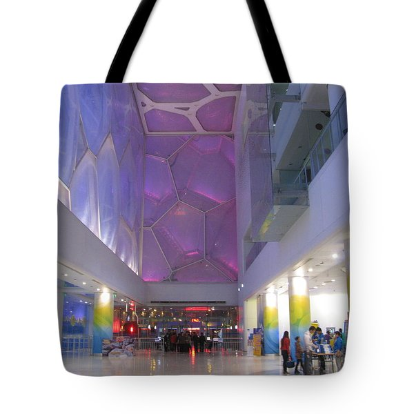 Inside The Water Cube Tote Bag