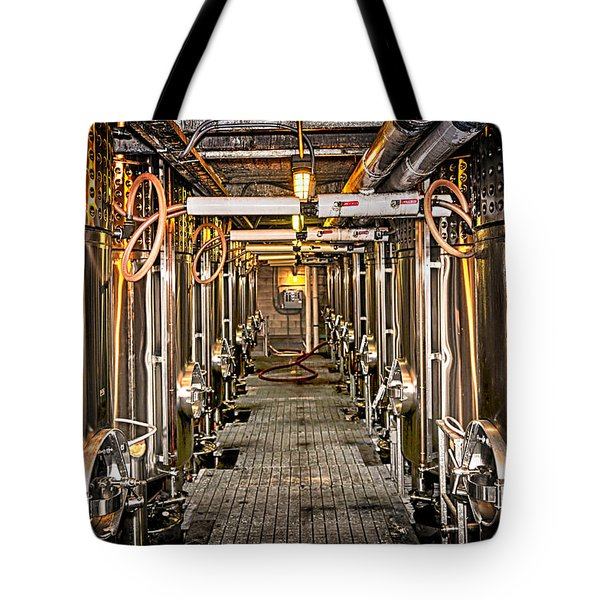 Inside Winery Tote Bag by Elena Elisseeva
