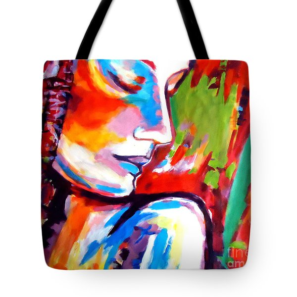 Tote Bag featuring the painting Insight by Helena Wierzbicki