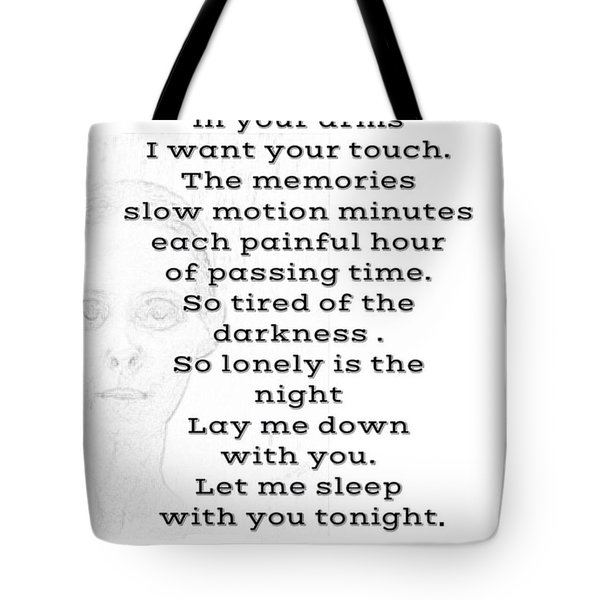 Insomnia  Tote Bag by Lisa Piper