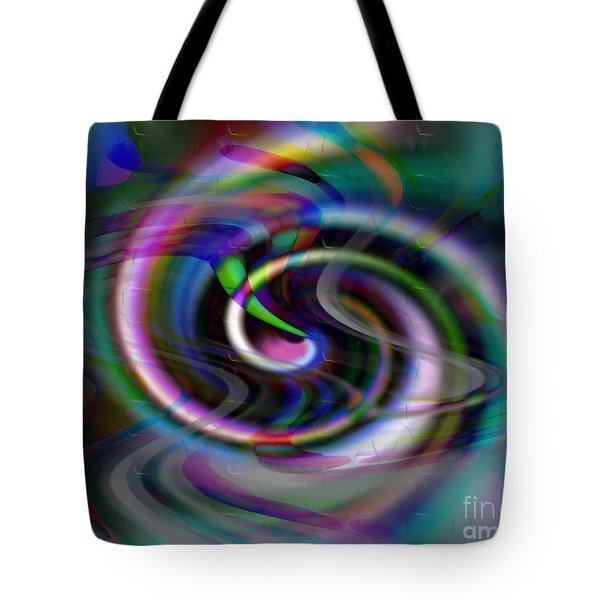Inspiral Car Tote Bag