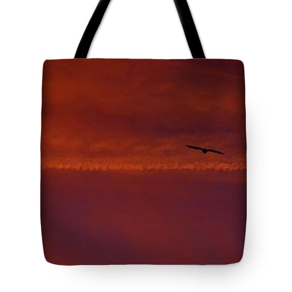 Inspirational Flight Tote Bag