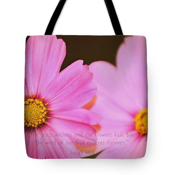 Inspirational Flower 2 Tote Bag