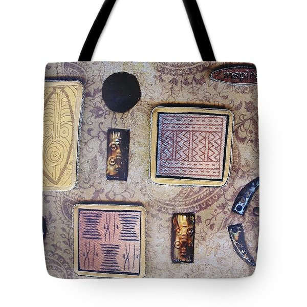 Inspire Collage Tote Bag