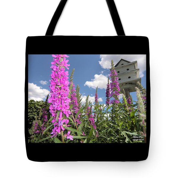 Inspiring Peace - Signed Tote Bag