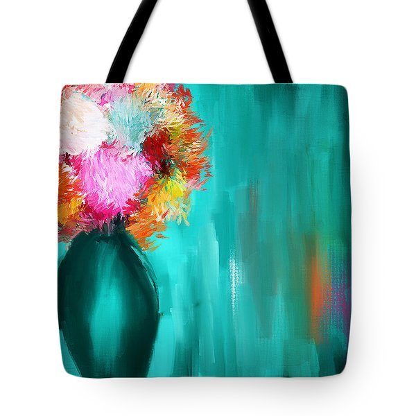 Intense Eloquence Tote Bag by Lourry Legarde