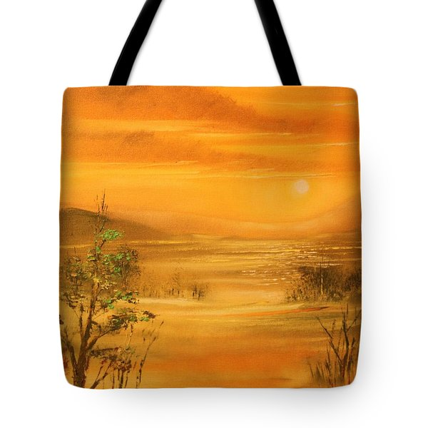Intense Orange Tote Bag