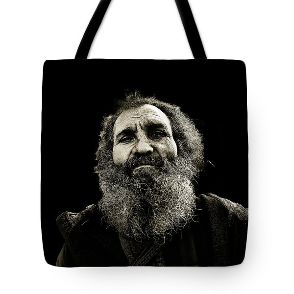 Intense Portrait Tote Bag