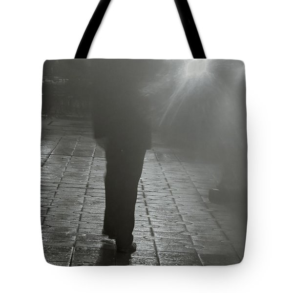 Intentions Unknown By Denise Dube Tote Bag
