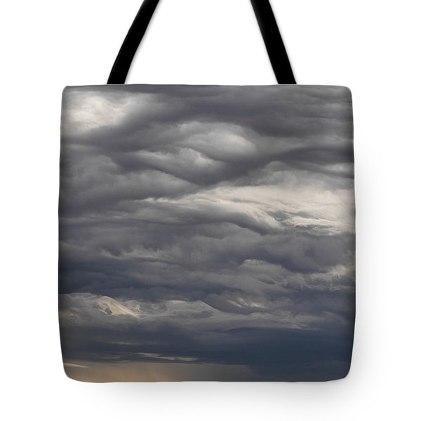 Interesting Cloud Formations Stack Tote Bag