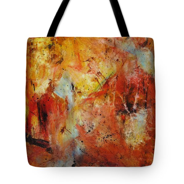 Interference Tote Bag