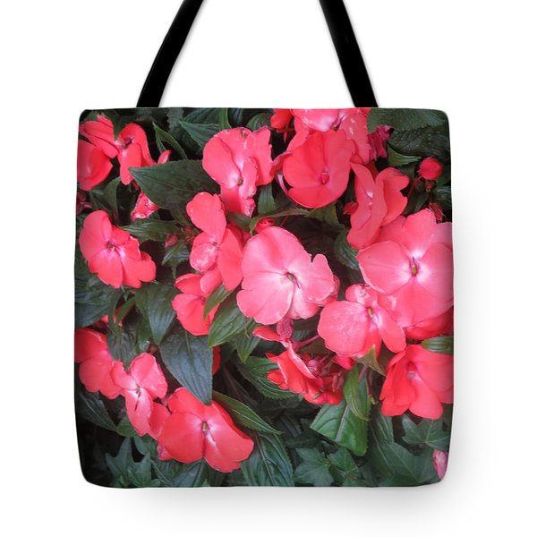 Tote Bag featuring the photograph Interior Decorations Butterfly Garden Flowers Romantic At Las Vegas by Navin Joshi