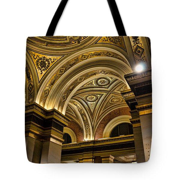 Interior Gesellschaft Der Musikfreunde - Vienna Tote Bag by Jon Berghoff