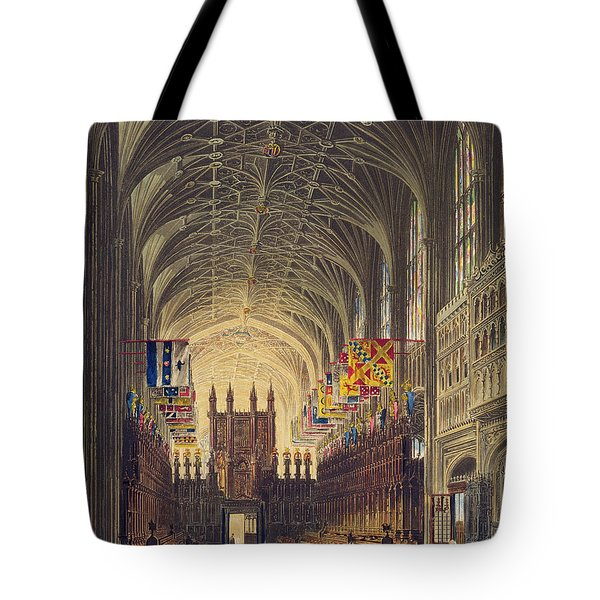 Interior Of St. Georges Chapel, Windsor Tote Bag