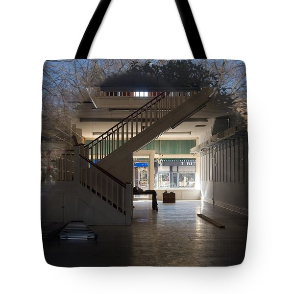 Interior Reflection Tote Bag by Melinda Fawver