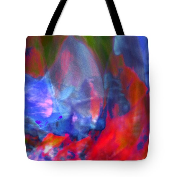 Tote Bag featuring the digital art Interior by Richard Thomas