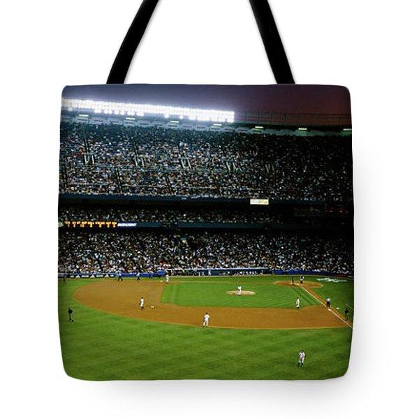 Interiors Of A Stadium, Yankee Stadium Tote Bag