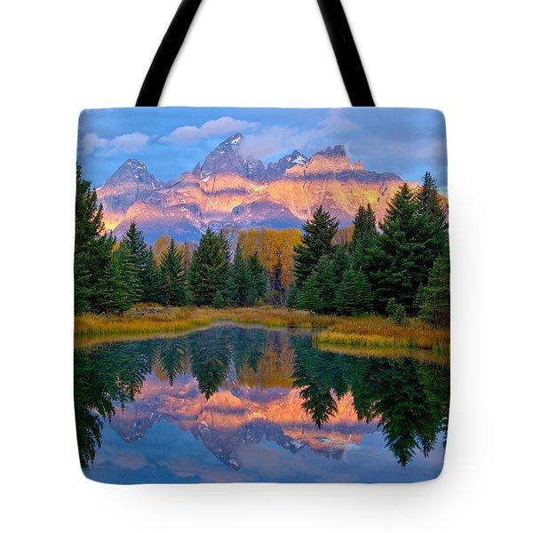 Intermittency Tote Bag