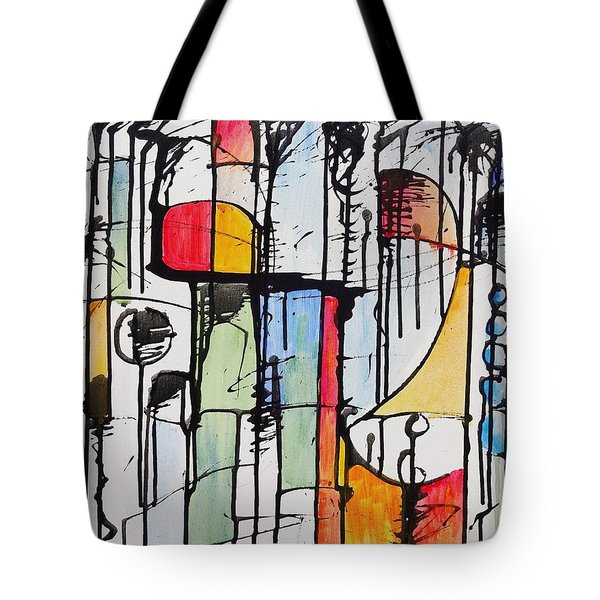 Internal Opposition Tote Bag